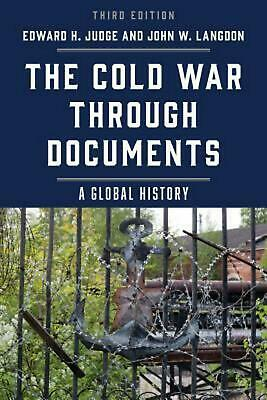 Cold War Through Documents: A Global History Hardcover Book Free Shipping!