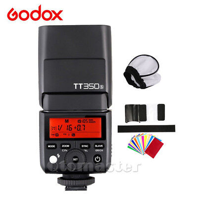 Godox Mini TT350S 2.4GHz TTL Camera Flash For Sony A6000 A6500 A7II A7R A5100