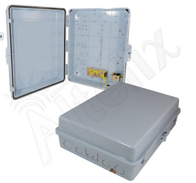 Altelix 17x14x6 Polycarbonate + ABS Weatherproof NEMA Box Outdoor Enclosure