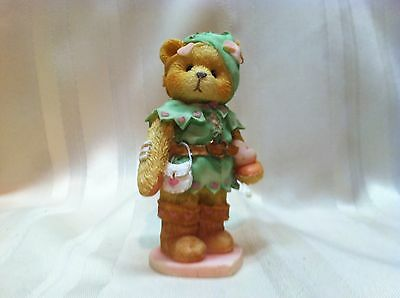 Cherished Teddies Figurine Robin You Stole My Heart Away 156434 1995