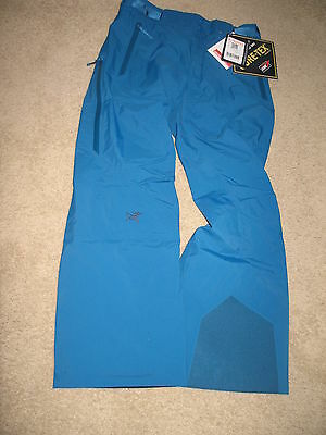 Arc'teryx Morra Gore-Tex Ski Pants  Insulated For Women.Size:M.Color:Blue.NWT.