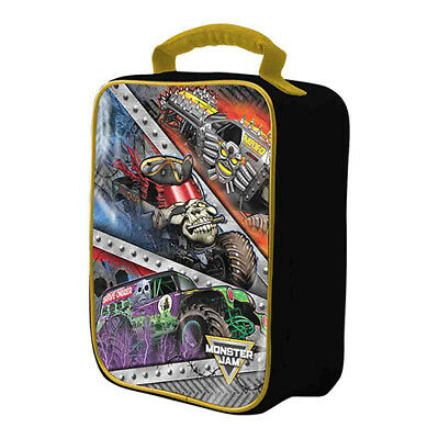 Monster Jam Insulated Lunch Box Lunchbox Grave Digger Max D Pirates Curse