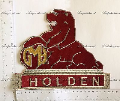 Holden Lion Badge Embroidered Cloth Back Patch