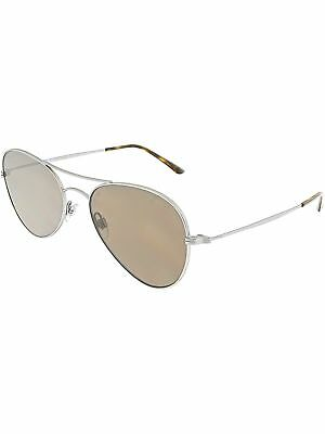 f8b46ce6b637 GIORGIO ARMANI MEN S AR6035-300273-54 Gold Aviator Sunglasses -  126.99