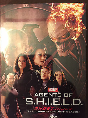 Marvel Agents of Shield Season 4 TV Poster Clark Gregg 24x36 - Ghost Rider