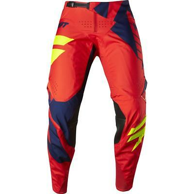 NEW Shift 2017 3LACK Mainline Navy/Red Pants from Moto Heaven
