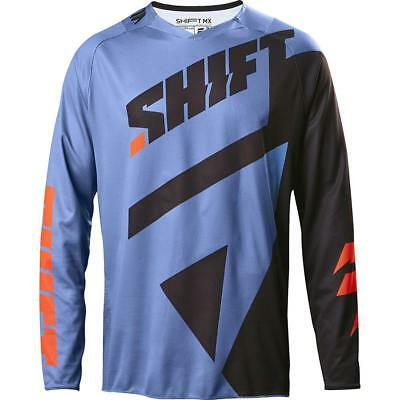 NEW Shift 2017 3LACK Mainline Blue Jersey from Moto Heaven
