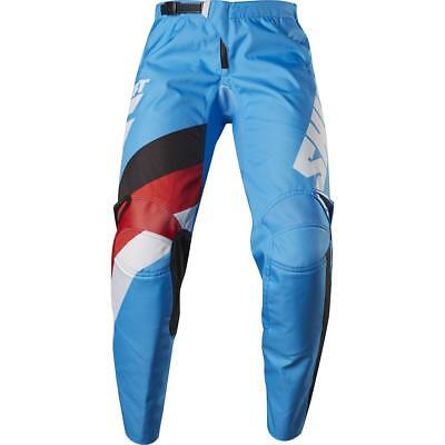 NEW Shift 2017 WHIT3 Tarmac Blue Pants from Moto Heaven