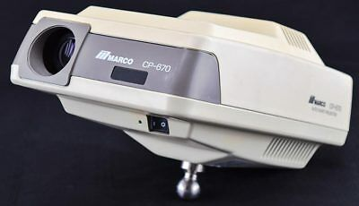 Marco CP-670 Medical Optometry Remote Controlled Automatic Chart Projector