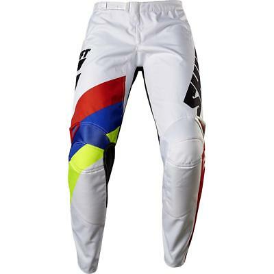 NEW Shift 2017 WHIT3 Tarmac White Pants from Moto Heaven