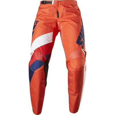 NEW Shift 2017 WHIT3 Tarmac Orange Pants from Moto Heaven