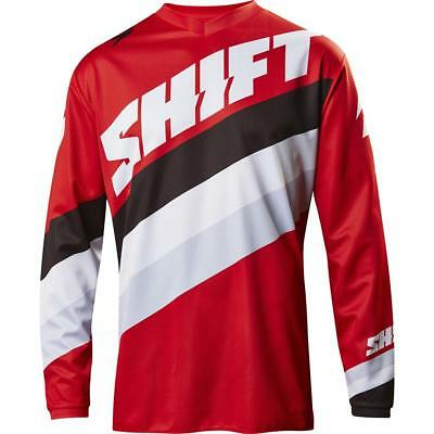 NEW Shift 2017 WHIT3 Tarmac Red Jersey from Moto Heaven