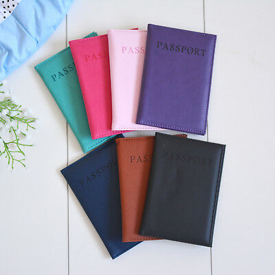 Passport Cover Holder Wallet Case Organiser Protector Travel Accessories Sleeve