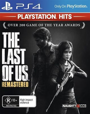 The Last of Us Remastered PS4 Game Naughty Dog Brand New