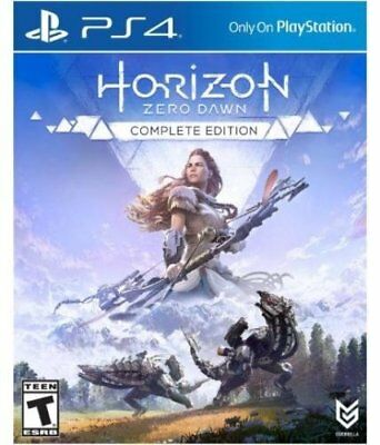 Horizon Zero Dawn Complete Edition Game PS4 Playstation 4 Brand New Sealed