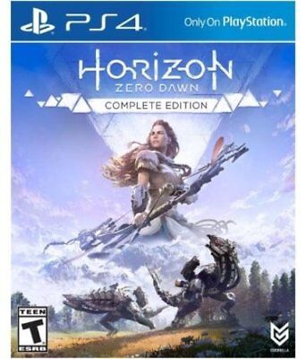 Horizon Zero Dawn Game PS4 Brand New