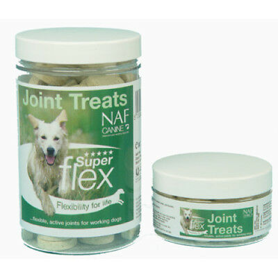 NAF Canine Superflex Joint Treats ALL SIZES - Working dog Supplements