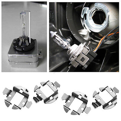 10 X H7 HID Xenon Bulb Holder Adapter Base Retainer Metal Clip for Benz BMW Audi