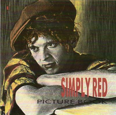 SIMPLY RED Picture Book CD - Excellent Condition