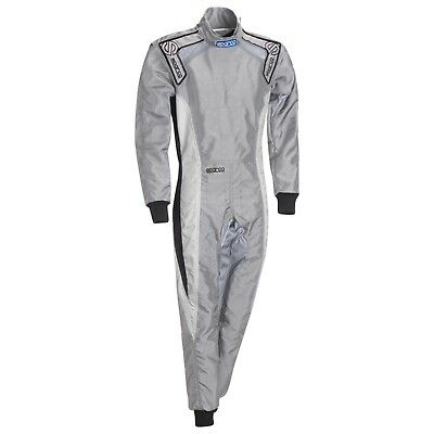 CLEARANCE! Sparco Ergo K9-F Kart Suit Colour: Grey,  Size: 48 EUR
