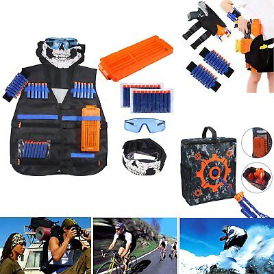 Tactical Vest Suit Kit/Tactical Pockets For Nerf Guns N-Strike Elite Series Toy