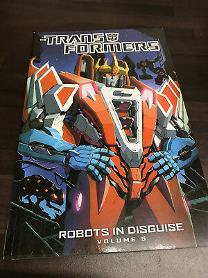 Transformers Robots in Disguise Vol.5 Graphic Novel TPB NEW