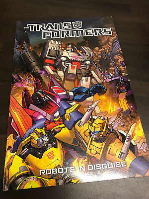 Transformers Robots in Disguise Vol.4 Graphic Novel TPB NEW