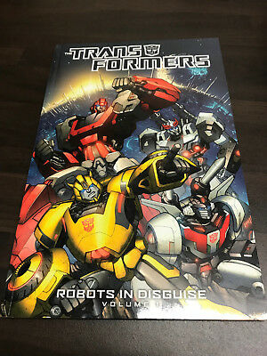 Transformers Robots in Disguise Vol.1 Graphic Novel TPB NEW