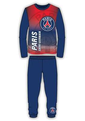 Boys Kids Football Footy Paris St Germain Psg Neymar Pyjama Nightwear 4-12 Yrs