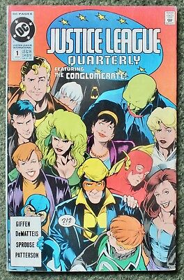 Justice League Quarterly - Issue # 1 - 1990 - DC Comics - VF (81)