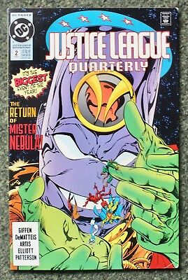 Justice League Quarterly - Issue # 2 - 1991 - DC Comics - VF (82)