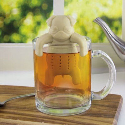 Tea Infuser Silicone Leaf Strainer Herbal Spice Filter Diffuser for Tea Lovers