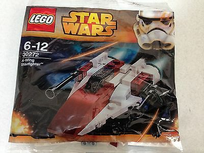 LEGO Star Wars A-Wing Starfighter 30272 PolyBag Promo.RARE.SEALED.FREE POSTAGE.