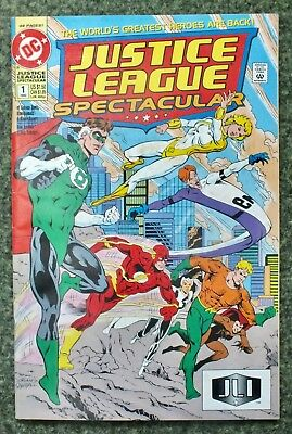 Justice League Spectacular - Issue # 1 - 1992 - DC Comics - VF (98)
