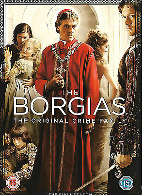 The Borgias Series 1 Complete:Jeremy Irons,Colm Feore (DVD, 2011, 3-Disc Set)