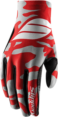 Slippery Red/Silver Jet Ski Watercraft Flex Lite Gloves