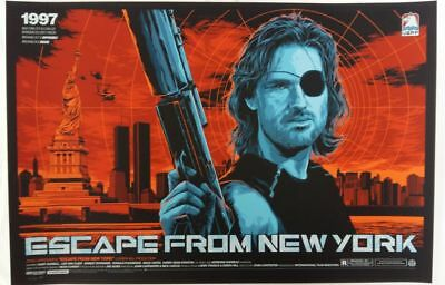 "Ken Taylor, Escape from NY, Variant AP 24""x36"" AP#/35"