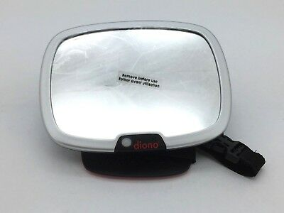 Diono Easy View Plus - Back Seat Mirror w/ Remote Controlled Light