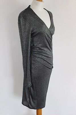 e9afb83c283ec New TED BAKER Metallic DOCCINA Party DRESS Ted Size 3 - M - Medium - UK