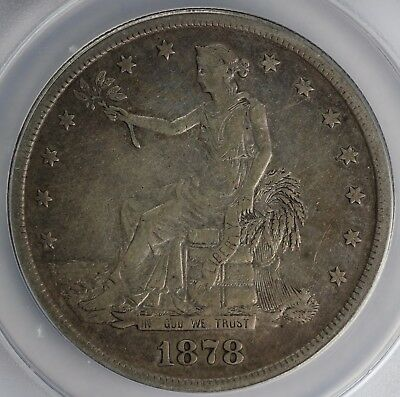 1878-S $1 Trade Dollar ANACS VF 30