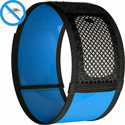 Mosquito Repellent Bracelet + 2x FREE Refills Prevents Insect & Mosquito Bites