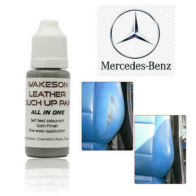 MERCEDES Leather Repair & Restoration Paint Car Seat interior 15ml ALL IN ONE