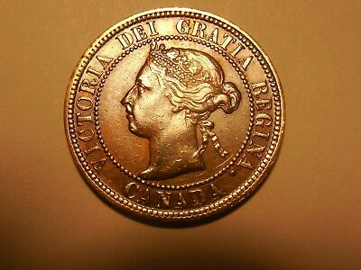 1899 Canadian LargePenny/Cent in about VF+ condition. But you decide!!!
