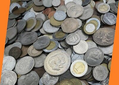 Mixed Job Lot World Coins Diverse collection Multiple Countries