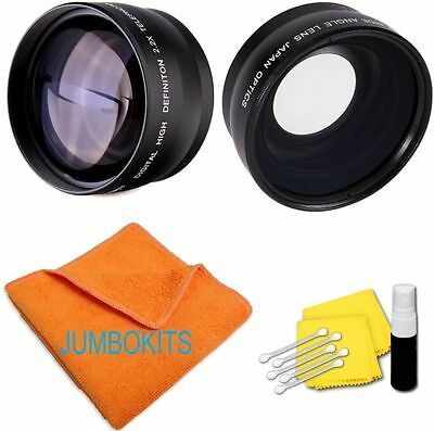 40.5MM HD PRO WIDE ANGLE MACRO + 2.2X TELEPHOTO ZOOM LENS FOR Sony NEX-3 W 16-50