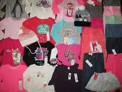 NWT'S 32Pc. Girls 2T-24 Months FALL WINTER Lot Clothes & Outfits Old Navy TCP