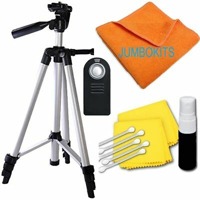 """Lightweight 57"""" Photo Tripod + REMOTE For Canon EOS Rebel T6 T6I T6S 6D 7D 70D"""