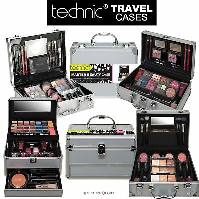 Technic Cosmetic Beauty Cases Aluminium Make Up Xmas Gift Box Sets Ladies Girls
