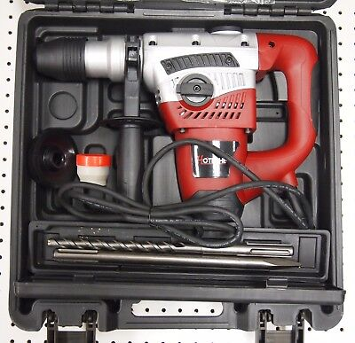 """1-9/16"""" SDS MAX Rotary Hammer Drill 3 Functions"""
