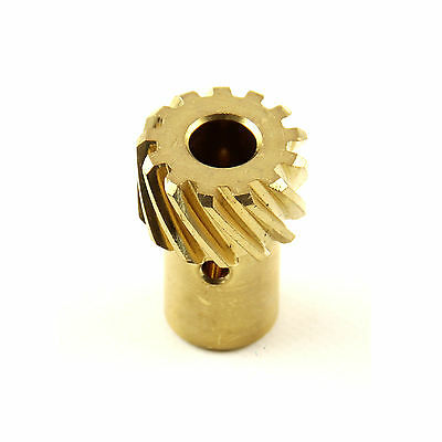Chevy Brass Bronze Distributor Gear .500 Shaft Roller Cams SBC BBC 350 383 454